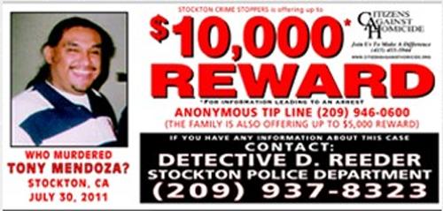 Who murdered Tony Mendoza?