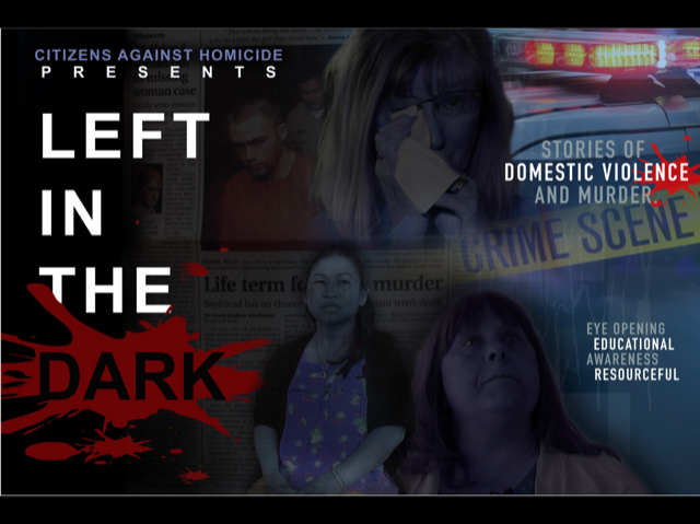 """SAVE THE DATE — """"LEFT IN THE DARK"""" RED CARPET EVENT"""